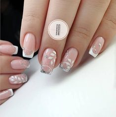Our goal is to keep old friends, ex-classmates, neighbors and colleagues in touch. Bridal Nails Designs, Bridal Nail Art, Nail Art Designs, Nails To Go, Red Nails, French Nails, Wedding Day Nails, Red Christmas Nails, Sassy Nails