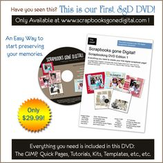 for digital scrapbooking; free tutorials and some you need their DVD; lessons look well written and they're illustrated with screenshots.
