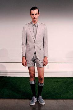 Carlos Campos coleccion primavera verano 2014 New York Fashion Week Gq, Suit Jacket, Breast, Blazer, Suits, Jackets, Fashion, Fields, Spring Summer