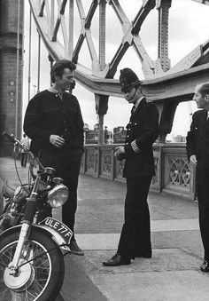 Clint Eastwood tours London during the filming of Where Eagles Dare, 1968.