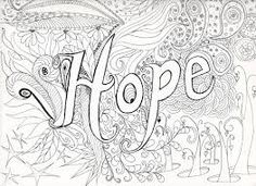 Hard Coloring Pages | Difficult Abstract Coloring Pages Another ...