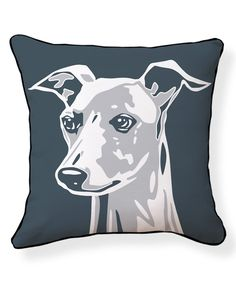 Another great find on #zulily! Big Greyhound Pillow by NAKED DECOR #zulilyfinds