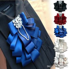 Cravat Tie, Kanzashi Tutorial, Ribbons, Skulls, Collars, Jewerly, Butterfly, Bows, Diy Crafts