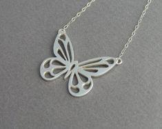 Paw Print Necklace Pendant Sterling Silver by DaliaShamirJewelry