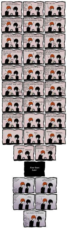harry potter comics | Thread: Harry Potter 7 - Hilarious Comic (spoilers) LARGE PICS