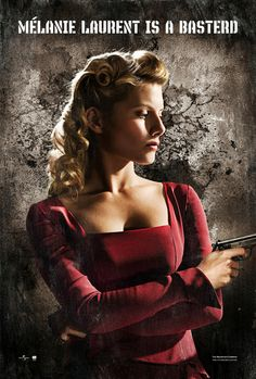 Melanie Laurent from Inglourious Basterds.