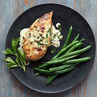 Lemon Caper Chicken Recipe...made this for dinner and the kids loved it!  I used rice flour and omitted the milk.