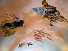 Ceiling of Kettle Arcade on Larimer Square, LoDo, Denver, Colorado. IMG_1967 LR, via Flickr.