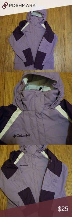 Girls Columbia wind breaker size 10/12 Girls Columbia windbreaker size 10/12 Columbia Other