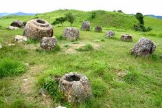 The Plain of Jars is another famous archeological sites in Xieng Khouang, Southeast Asia and it still have thousand of mysteries because the place filled by jars and nobody knows where it come from. The place is located in Indochina mountains