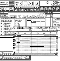Cubase for the Atari ST. one of the earliest versions of a DAW