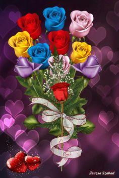 By Artist Unknown. Cute Galaxy Wallpaper, Bling Wallpaper, Flower Phone Wallpaper, Flower Wallpaper, Iphone Wallpaper, Cool Pokemon Wallpapers, Pretty Wallpapers, Beautiful Roses, Beautiful Flowers