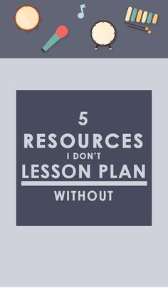 Lesson planning can be ROUGH! Luckily these 5 resources will save you time, headaches, and stress. Click through to read!
