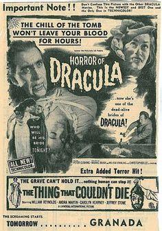 Dracula  horror
