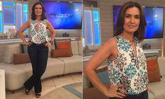 Encontro com Fátima Bernardes - Looks da Fátima
