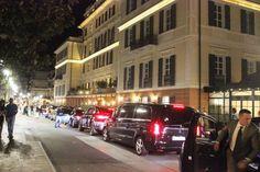 Alassio, l'arrivo della principessa araba al Grand Hotel | Foto Liguria | Fotogallery | Multimedia | Il Secolo XIX