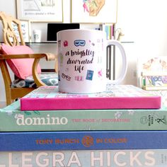 Brightly Decorated Life Mug