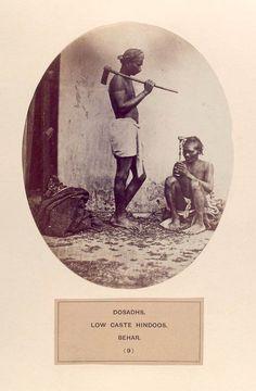 Dosadhs, low caste hindoos, Behar. [Also known as Dusadh, Dhari, Dharhi] (1868-1875)
