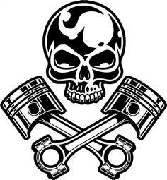 symbol of big car segment enthusiasts – Amee House Motorcycle Logo, Car Fix, Make Money Today, Skull Tattoo Design, Free Stencils, Oldschool, Art File, Pyrography, Paisajes