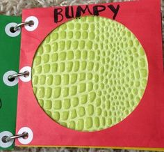 How Sweet It Is: DIY Book of Textures (sensory book) -- awesome sensory/texture book.