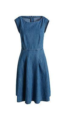 Esprit / Robe en jean, coton