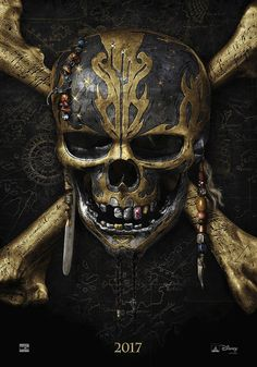 Pirates of the Caribbean: Dead Men Tell No Tales' - Official Teaser PosterPoster