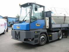 Terminal Tractor is a semi-tractor intended to move semi trailers within a cargo yard, warehouse facility, or intermodal facility. To rent it visit