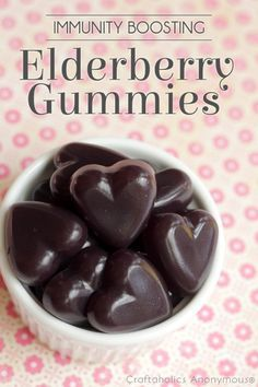 Elderberry gummies are a great way to boost immunity! and kids think they're great.#ElderberryGummies #NaturalRemedies