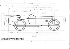 CycleKart Plans & Drawings Thread (Page 4) : CycleKart Tech Forum : CycleKart Forum : The CycleKart Club