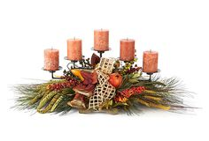 CHANGE COLORS FOR CHRISTMAS AND USE CANDLEHOLDER JOHN MADE