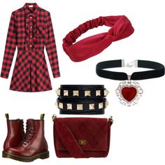 Featuring style RED Valentino Dr. Martens Chanel Valentino