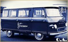 Olympic Airways mini bus for staff Olympic Airlines, Dad's Army, Aristotle Onassis, Mini Bus, Army Vehicles, Heavy Truck, Greek Art, Busses, Commercial Vehicle