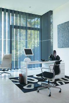 Luxaflex® Verticale Jaloezieën - blauw