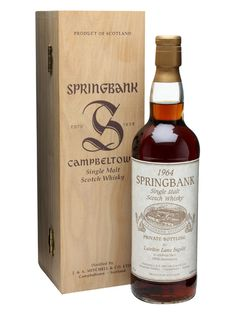 Springbank 1964 / Lateltin Lanz Ingold 100th Anniversary Scotch Whisky : The Whisky Exchange