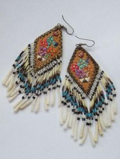porcupine quill sweetgrass birch earrings.... i think yes!