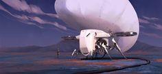 Autonomous gas harvesting ship - Wendy Yoon