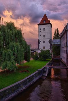 Lesser Town water tower, Prague, Czech Republic, 2009, photograph by Tomas Moravec.