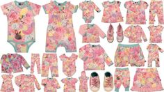 Molo Kids Rabbit Rose Collection - Summer 2012.  Wowzas.