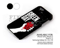 green day love grenade case for iPhone 4/4S/5 iPod 4/5 Galaxy S2/S3/S4 | FixCenter - Accessories on ArtFire