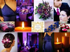 I want a purple wedding so bad but the navy matches my airforce your wedding in colors plum and navy blue junglespirit Choice Image