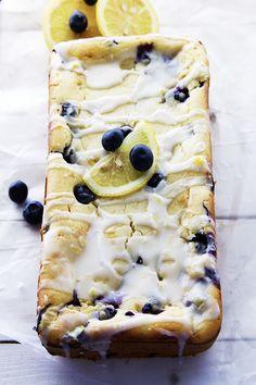 Lemon Blueberry Yogurt Bread is simple and easy to make. Lemon Blueberry Yogurt Bread is just what you need this Summer. Yogurt Bread, Lemon Bread, Lemon Loaf, Blueberry Bread Recipe, Blueberry Recipes, Blueberry Loaf, Just Desserts, Dessert Recipes, Healthier Desserts