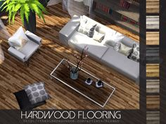 Hardwood Flooring In 8 Color Variations Found TSR Category Sims 4 Floors