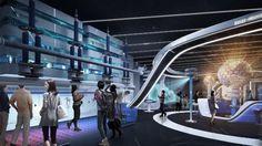 plan exhibition design concept by 2013 MILESEUM