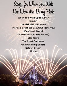These Songs Will Really Make You Miss The Disney Parks | Oh My Disney. The Disney Bloggers Collection has more at http://disneybloggers.blogspot.com