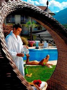 Fkk turm im preidlhof wellness in den dolce vita hotels for Designhotel norditalien