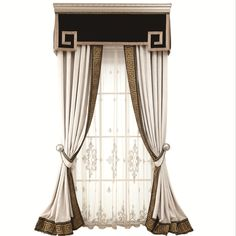 Ulinkly is for Affordable Custom-made Luxurious Window Curtains Pelmet Designs, Drapery Designs, Unique Curtains, Modern Curtains, Bedroom Curtains With Blinds, Window Curtains, Bathroom Interior Design, Decor Interior Design, Luxury Dining Tables