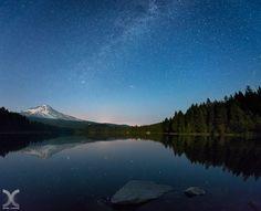 Photo Trillium Lake by Daniel Cheong on 500px