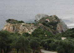 Το κάστρο της Σκιάθου (φωτ. από το μπλογκ Αλέξανδρος Παπαδιαμάντης).