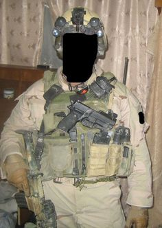 """A member of Task Force Black (SAS / SFSG) pictured while on operations in Iraq. Special Air Service and Special Forces Support Group troops, supported by various intelligence, communication and aviation assets, carried out a high tempo campaign against Al Qaeda and insurgent forces in Baghdad from 2003 to 2009. Speaking to the Times,Gen. D.Petraeus said, """"They have helped immensely…in particular, to take down the al-Qaeda car bomb networks and other al-Qaeda operations in Iraq's capital"""