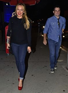 CHANEL AFTER COCO: CELEB COUPLE: HILARY DUFF & MIKE COMRIE